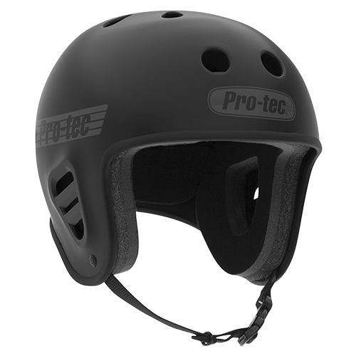 A pro-tech FULL CUT SKATE helmet image.