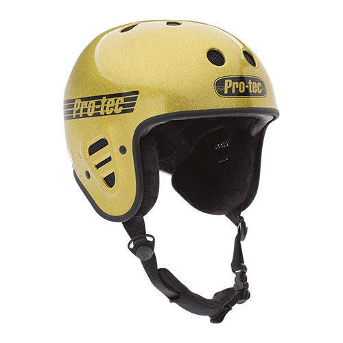 A pro-tech FULL CUT helmet image.